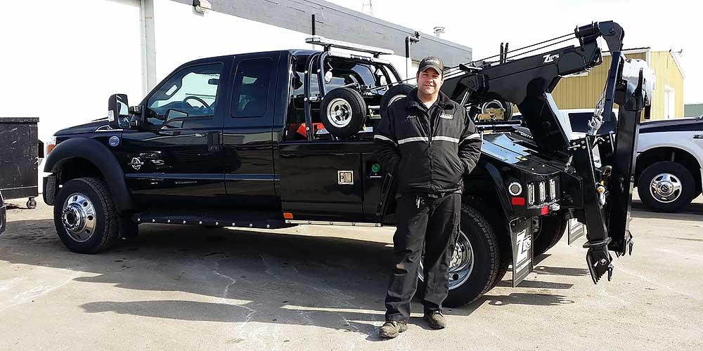 chevron renegade light duty wrecker ford