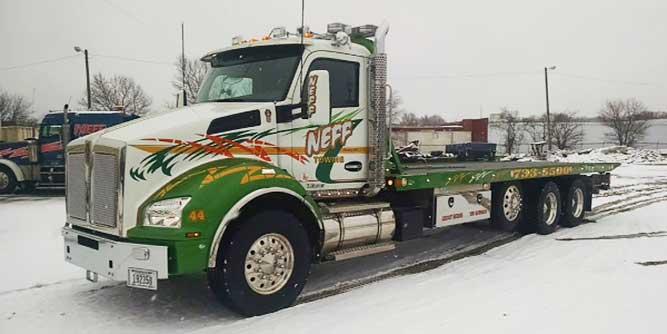 Snow Plow Truck For Sale >> 2016 Century 28' Steel LCG™ Industrial Carrier, Kenworth T880, #J13030