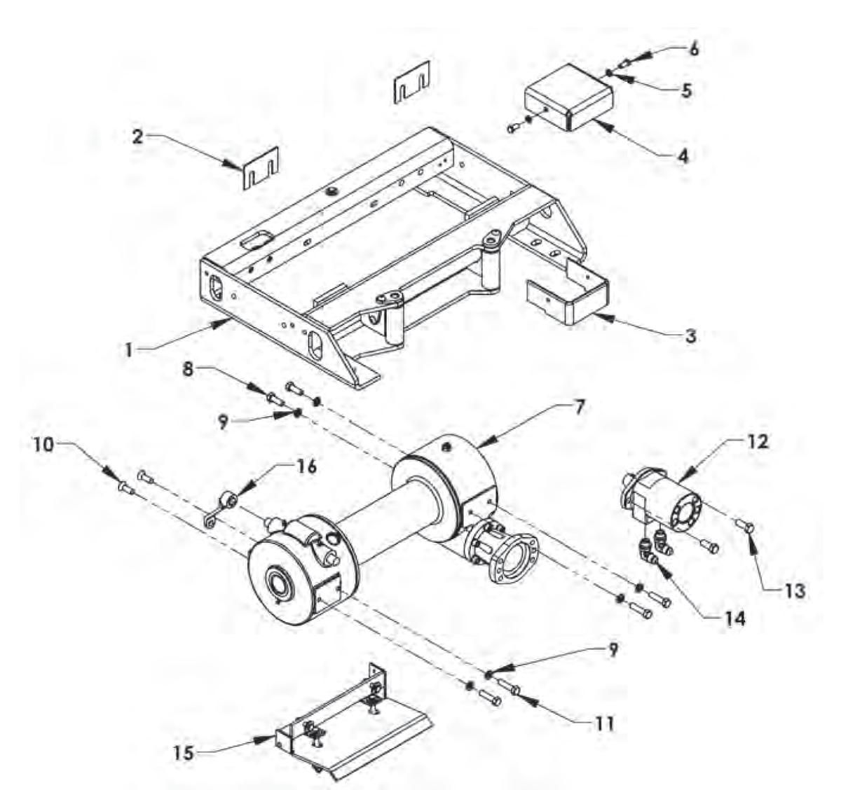 Ramsey Winch Diagrams 400 Custom Wiring Diagram 8000 House Symbols U2022 Rh Maxturner Co Hydraulic Schematic Parts