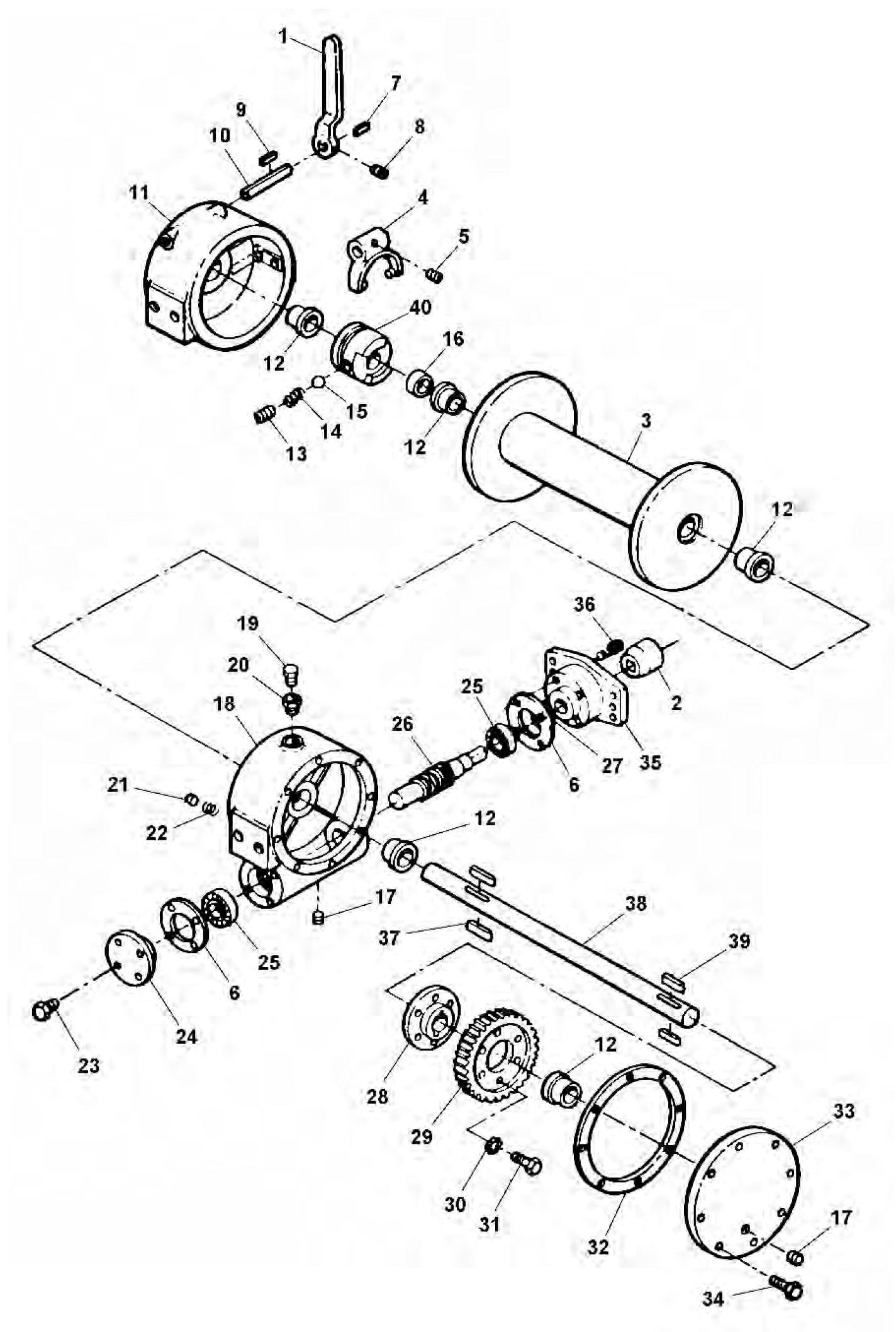 Hydraulic Winch Diagram - All Wiring Diagram