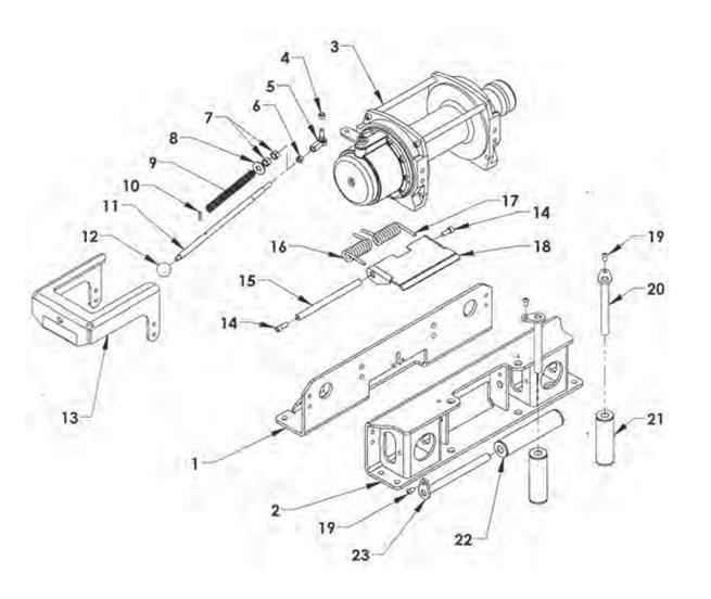 Warn Winch Wiring Diagram On Winches Rebuilding Parts