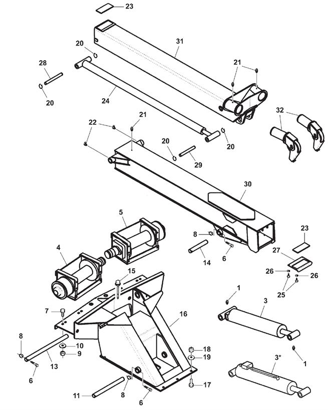 614 wrecker assembly Chevy S10 Blazer Wiring Diagram