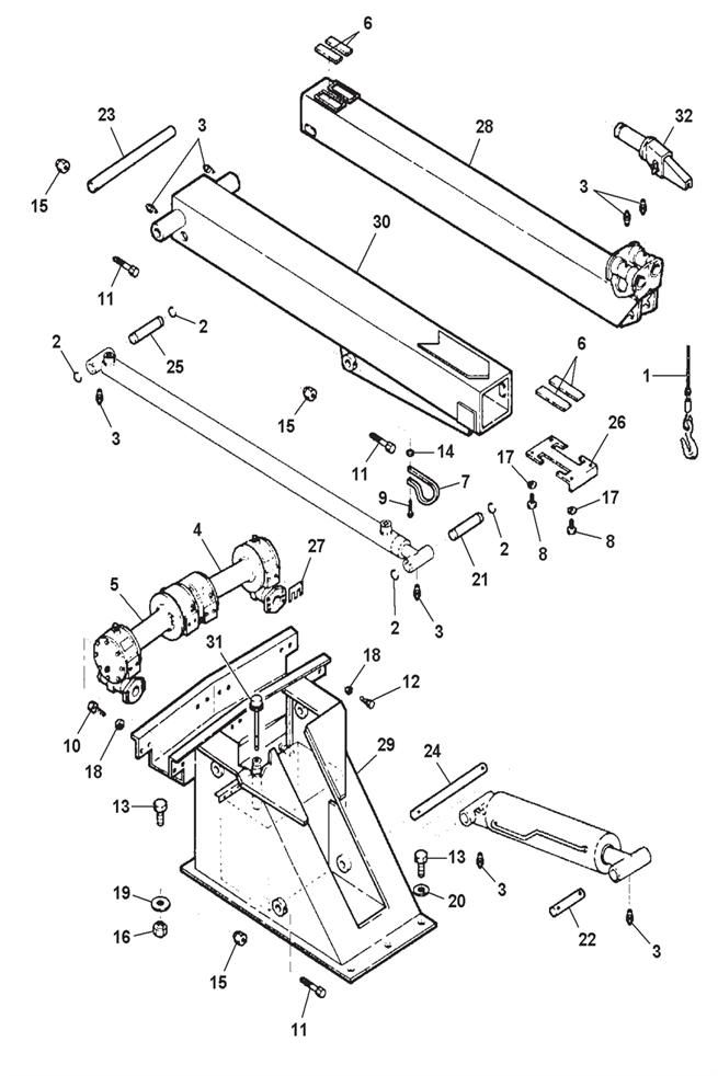 parker motor parts