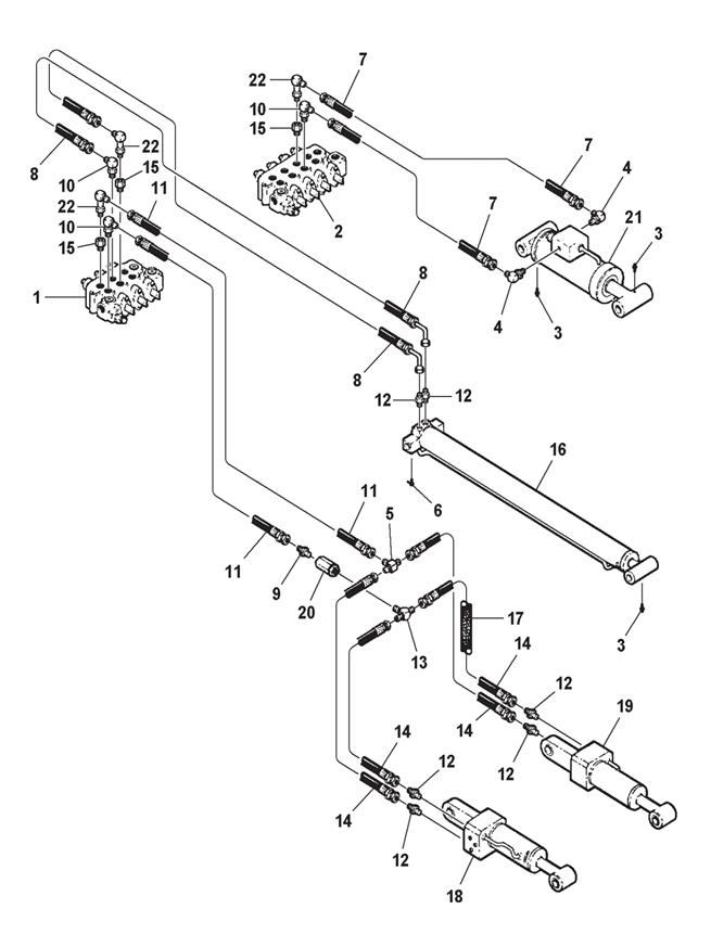 wheel lift hydraulics