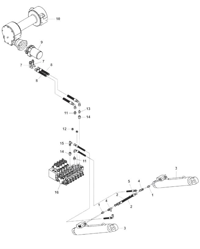 301 Boom & Winch Hydraulics