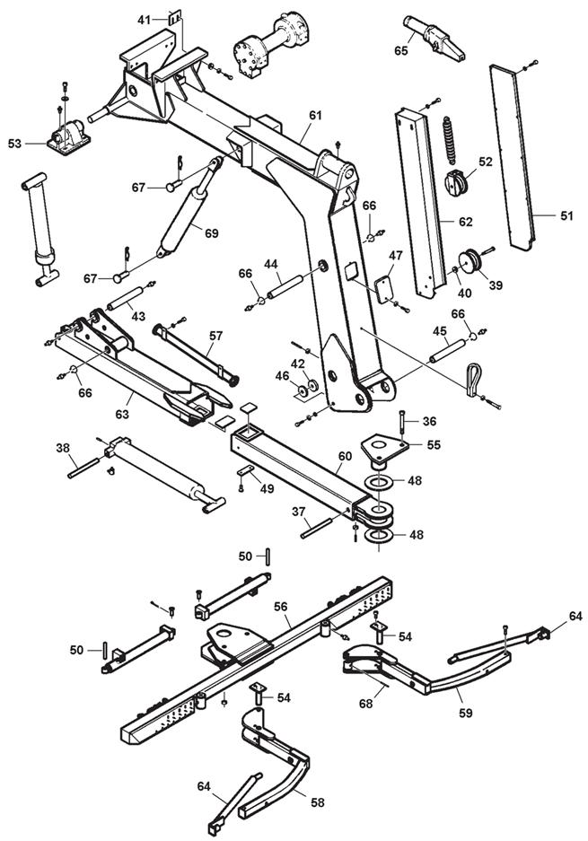 Express 300 Boom Assembly-Model 301(cont'd)