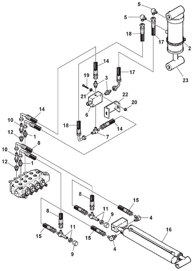 SDU/2 Lift & Extend Hydraulics