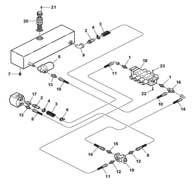 Pump, Valve & Filter Hydraulics (Model 4300)
