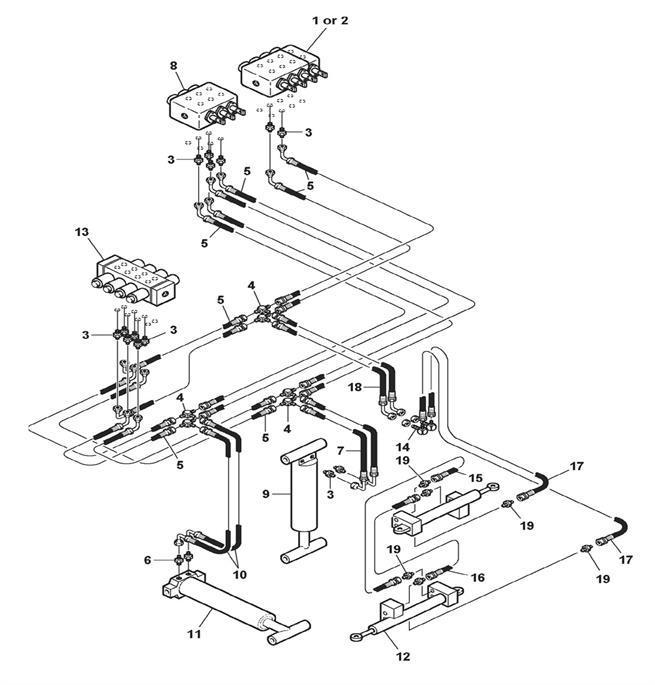 Wheel Lift Hydraulics Models 4301, 4311 & 4312