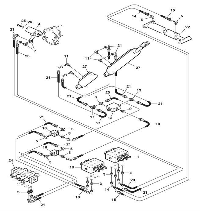 Wrecker Hydraulics (Model 4311)
