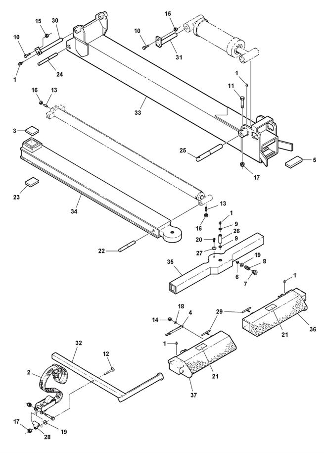 Wheel Lift & Slide-In Tire Restraint Assembly