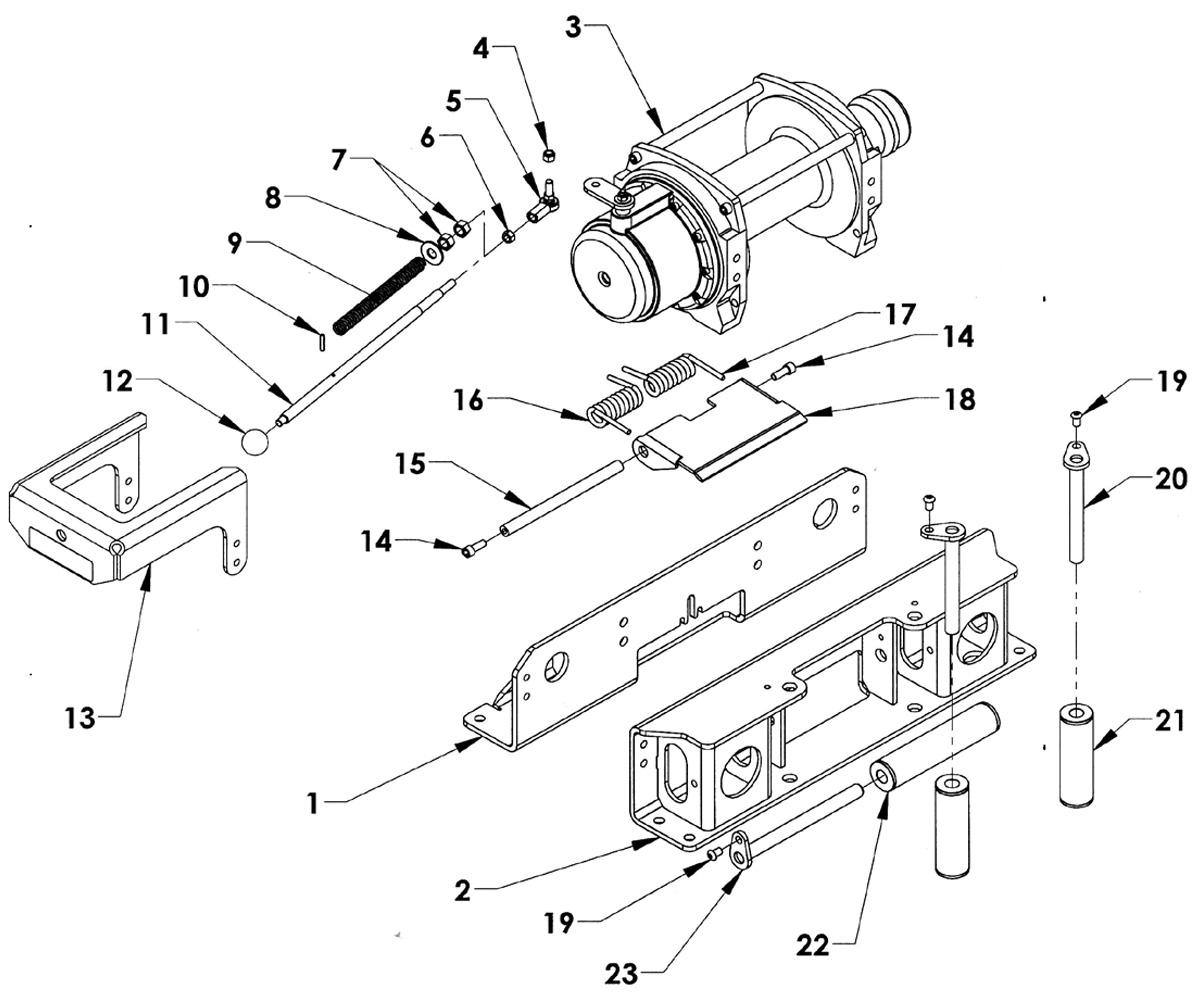 atv warn winch a2000 wiring upgrade diagram