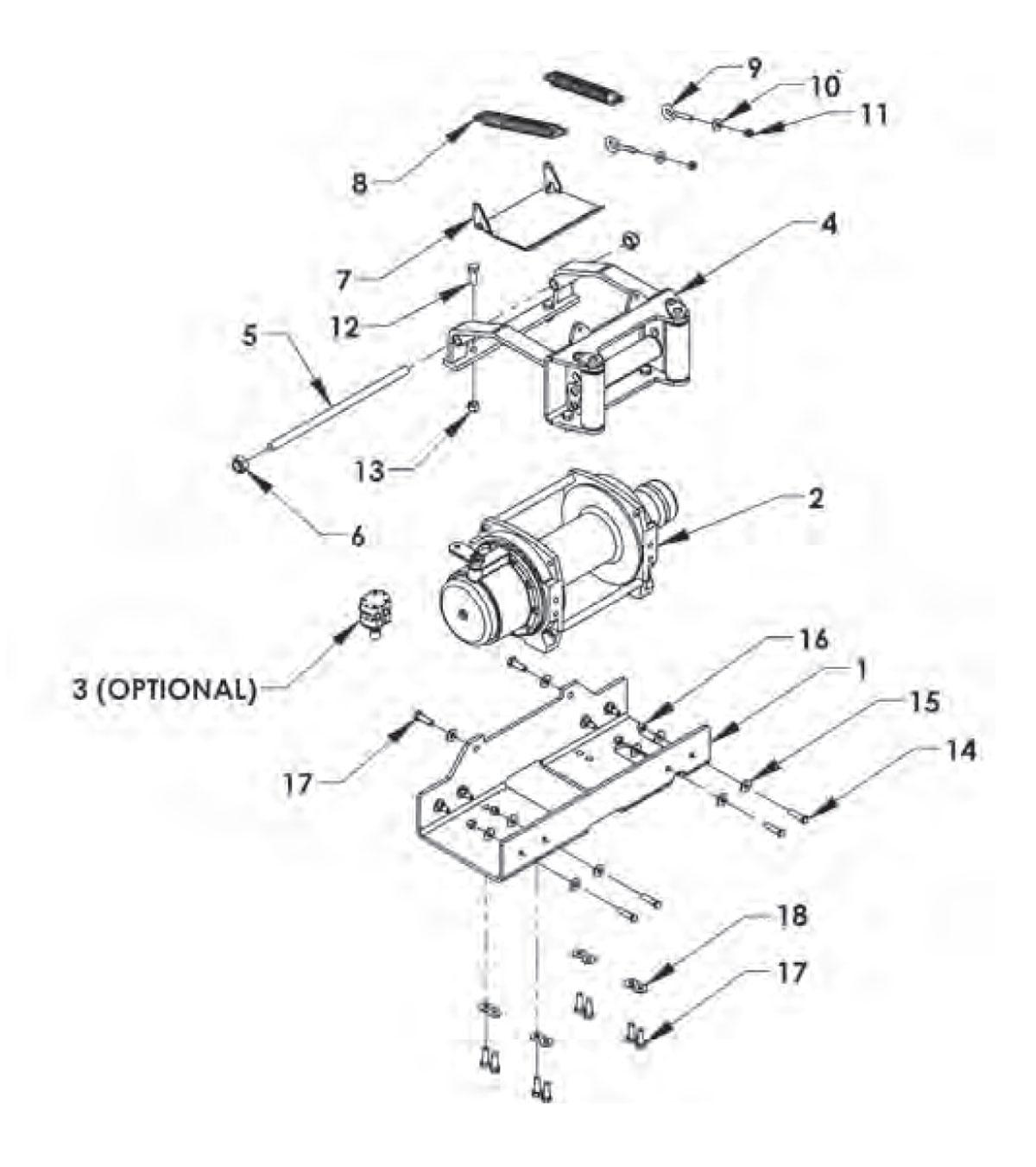 Wiring Diagram For Warn 12 000 Lb Winch
