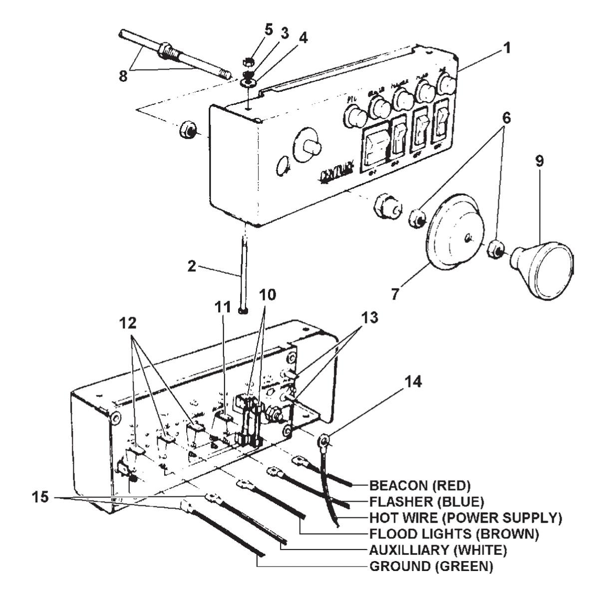 global electric motorcars wiring diagrams
