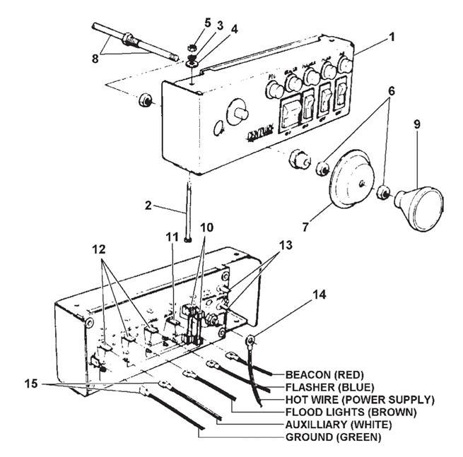 boom truck wiring diagram