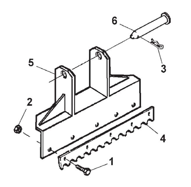 Wheel Lift Attachments; Spade Attachment