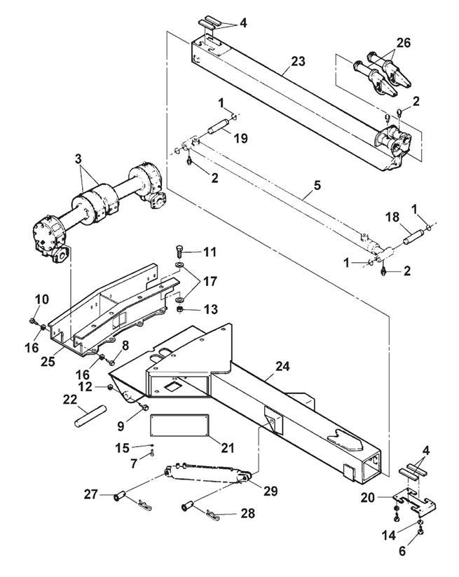 wrecker assembly 4402b