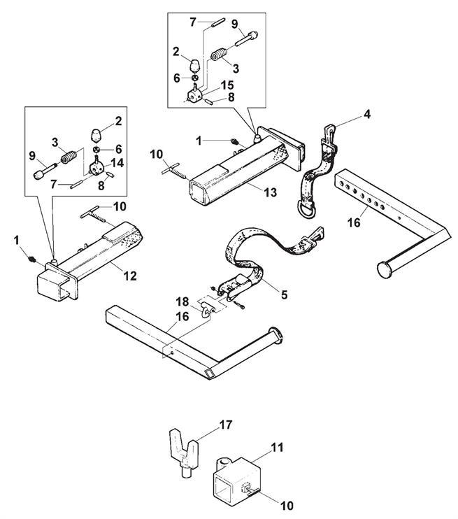 Outer Crosstube Tire Restraint Assembly Basic Light Wiring Diagrams
