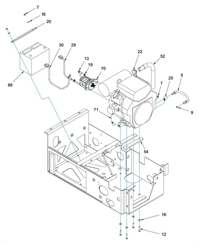 25 HP Upper Deck Package (2 of 4)