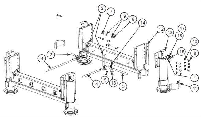 Dock Leveler Assembly, 120K