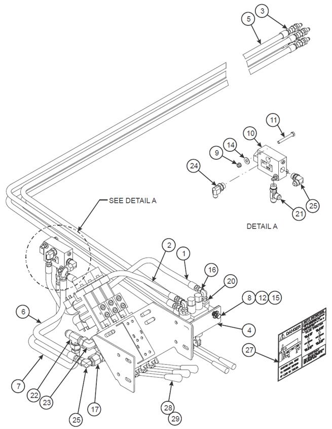 Dock Leveler Hydraulic Installation