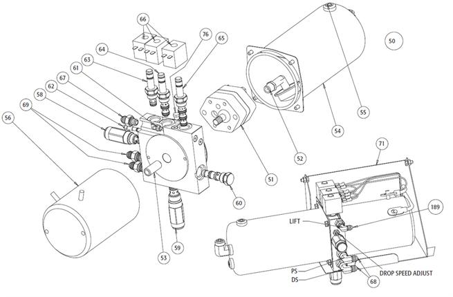 Hdex Hydraulic Power Unit