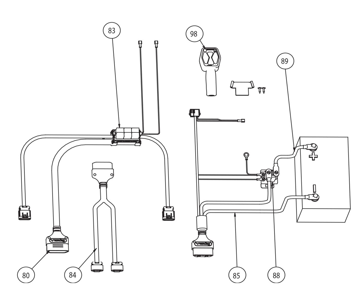 snowdog 1500 wiring harness   27 wiring diagram images