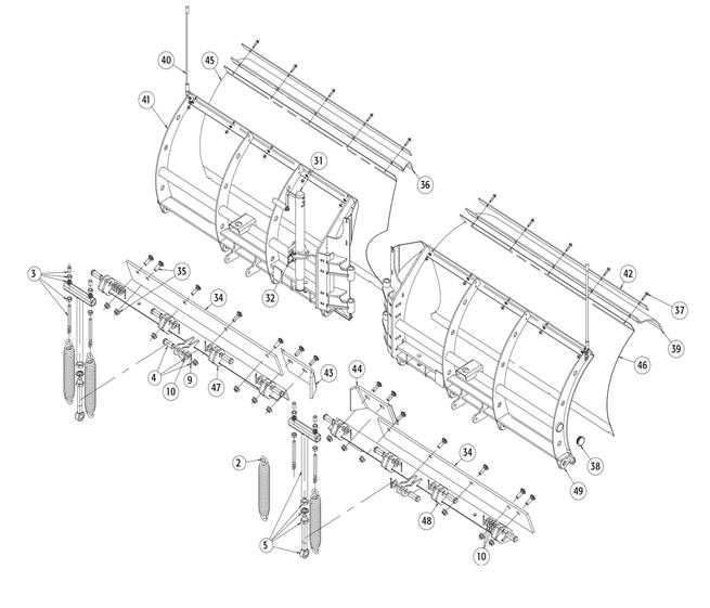 VXF Moldboard