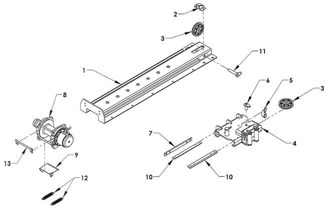 Manual Slidewinder Short Track
