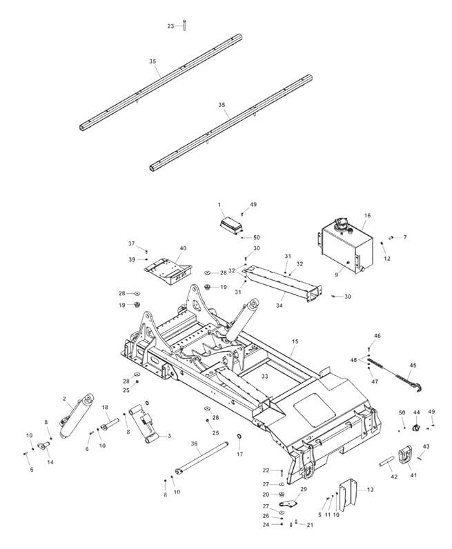 890 Subframe Assembly