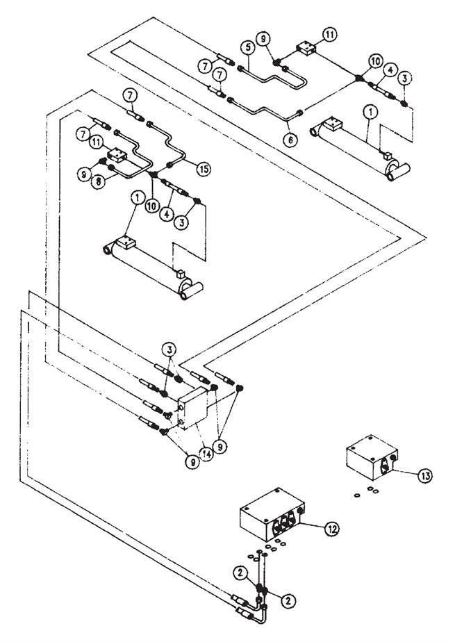 Boom Lift Cylinder Hydraulic Components