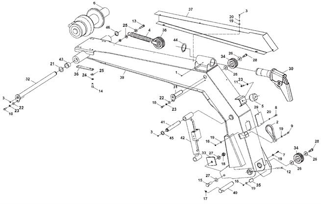 Ford L8000 Wrecker